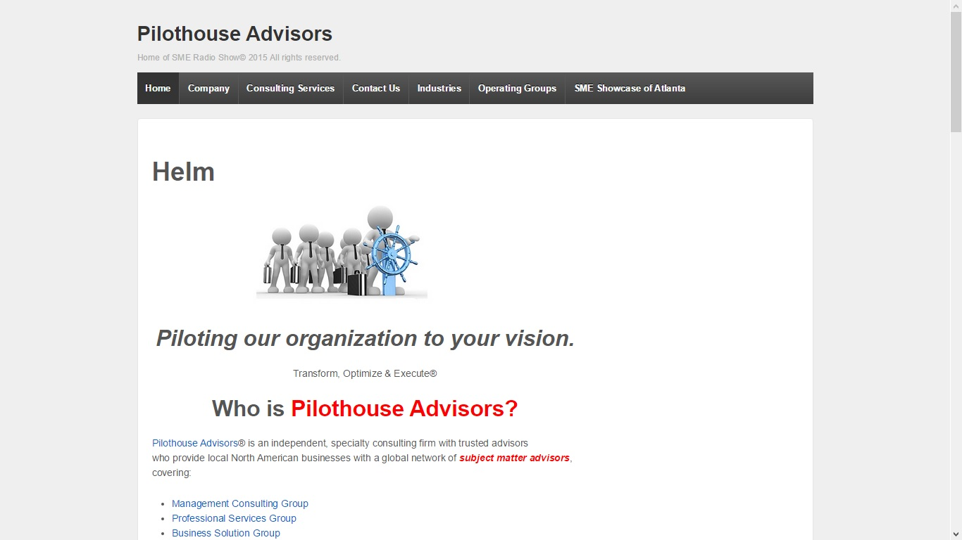 Pilothouse Advisors